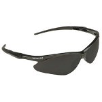 Kimberly-Clark 3000356 Nemesis Safety Glasses, Smoke Lens, Black Frame
