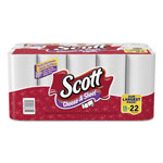 Scott® Choose-A-Size Mega Roll Paper Towels, 1-Ply, White, 102/Roll