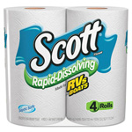 Scott® Rapid Dissolving Tissue, 1-Ply, 264 Sheets