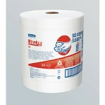 "WypAll® X80 Jumbo Roll White Shop Towel, 12.5"" x 13.4"""