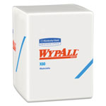 WypAll* X60 Cloths, 1/4 Fold, 12 1/2 x 10, White, 70/Pack, 8 Packs/Carton