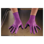Kimberly-Clark Purple Nitrile Xtra Exam Gloves, Medium, 12 in Length, 50/Box