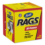 Kimberly-Clark White Scott Rags In A Box