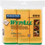 Kimberly-Clark Wypall Microfiber Cloths, Gold