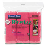 WypAll® Microban Microfiber Cloths, 4 Packs of 6