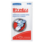 WypAll® Waterless Hand Wipes, Polypropylene, 10 1/2 x 8, 75/Pack