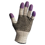 Jackson Safety* G60 PURPLE NITRILE Cut-Resistant Gloves, Size 11 (XXL), Black/White/Purple