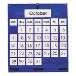 Carson Dellosa Publishing Company 2010 Monthly Calendar Pocket Chart