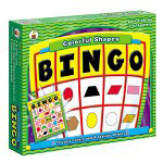 Carson Dellosa Publishing Company Colorful Shapes Bingo