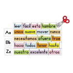 Carson Dellosa Publishing Company Spanish Word Wall
