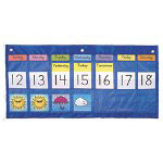Carson Dellosa Publishing Company 2009 Weekly Calendar with Weather Pocket Chart