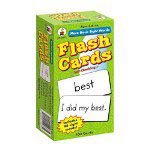 Carson Dellosa Publishing Company More Basic Sight Words Flash Cards