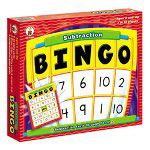 Carson Dellosa Publishing Company Subtraction Bingo
