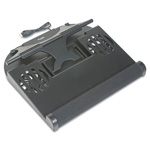 Kelly Computer Supplies Notebook Riser with Cooling Fan and Swivel, Black, 12 1/2 x 11 1/2 x 4