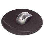 Kelly Computer Supplies Viscoflex Memory Foam Oval Mouse Pad, Black