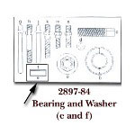 KD Tools Bearing & Washer for KDT2897