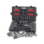 Gearwrench 114 Piece Large SAE and Metric Ratcheting Tap and Die Set