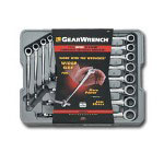 Gearwrench 12 Piece Metric-X Beam Ratcheting Combination Wrench Set