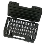 "KD Tools 46 Piece 1/4"" and 3/8"" Drive GearRatchet Set"