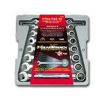 Gearwrench 8 Piece SAE Combination Gear Wrench Set