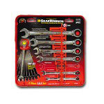 Gearwrench 7 Piece SAE Combination Gear Wrench Set