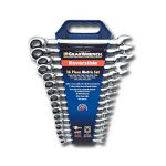 Gearwrench 16 Piece Metric Reversible Gear Wrench Set