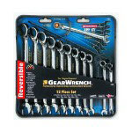 Gearwrench 12 Piece Metric Offset Reversible Gear Wrench Set