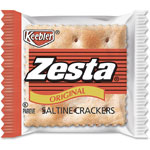 Kellogg`s Zesta Saltine Crackers, 2 Crackers/Pack, 300 Packs/Carton