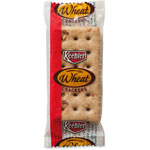 Keebler Wheat Crackers, 2 Crackers/PK, 300/CT, Brown
