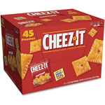 Keebler Cheez-It Snack Crackers, 3oz. Bags, 45/CT, Red