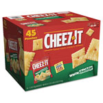 Keebler Cheez-it Crackers, 1.5 oz Bag, White Cheddar, 45/Carton