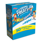 Kellogg's Rice Krispies Treats, Mini Squares, 0.39 oz, 50/Box