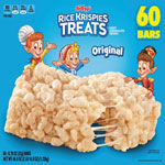 Kellogg's Rice Krispies Treats, Original Marshmallow, 0.78oz Pack, 60 Per Carton