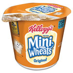 Kellogg`s Breakfast Cereal, Frosted Mini Wheats, Single-Serve, 6 Cups/Box