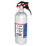 Kidde Safety FX511 Automobile Fire Extinguisher, 5 B:C, 100psi, 14.5h x 3.25 dia, 2lb