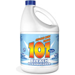 KIK Regular Bleach, 1 gal Bottle, 6/Carton
