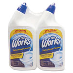 KIK Disinfectant Toilet Bowl Cleaner, 32 oz Bottle, 2/Pack