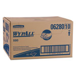 WypAll® X80 Foodservice Towels, Blue, Carton of 150