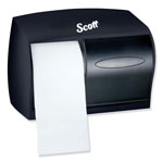Kimberly-Clark In-Sight® Twin Coreless Bathroom Tissue Dispenser, Translucent Smoke