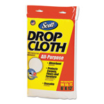 Kimberly-Clark Absorbent Dropcloths, 8 x 12, White, 6/Carton