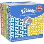 Kleenex® Facial Tissue Pocket Packs, 3-Ply, White, 10 Sheets/Pack 8 Packs