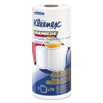 Kleenex Premiere Kitchen Roll Towels, White, 70/Roll, 24 Rolls/Carton