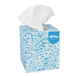 Kleenex White Facial Tissue, 2-Ply, Pop-Up Box, 95/Box, 6 Boxes/Pack
