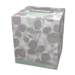 Kleenex Cube Box 2-Ply 10% Recycled Facial Tissue, Box of 95