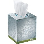 Kimberly-Clark Kleenex Naturals Boutique Facial Tissue, 20% Recycled, 95/Box, 36 Boxes/Carton, WE