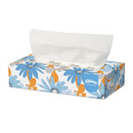 Kleenex White Facial Tissue, 2-Ply, POP-UP Box, 100/Box