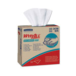 WypAll* X60 Cloths, POP-UP Box, White, 9 1/8 x 16 4/5, 126/Box