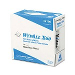 Kimberly-Clark WypAll X60 Teri Reinforced Wipes in Pop Up Box