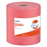 WypAll® X80 Jumbo Roll Towels, 12 1/2 x 13 3/8, Red, 425Sheets/Roll