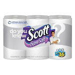 Scott® Bulk Bathroom Tissue, Extra Soft, 469 Sheets, 12/Pack, White